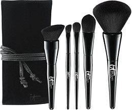 IT Brushes For ULTA Experience Velvet Blurring 5 Pc Ultimate Luxe Set Ulta.com - Cosmetics, Fragrance, Salon and Beauty Gifts