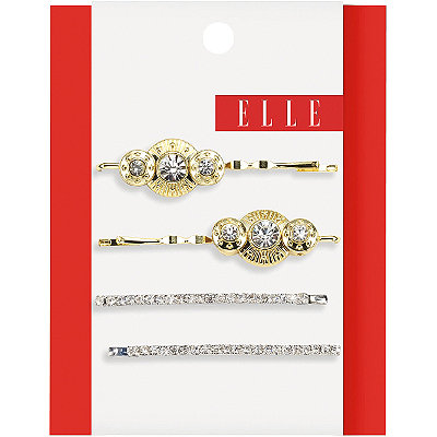 Elle Gold and Silver Bobby Pins