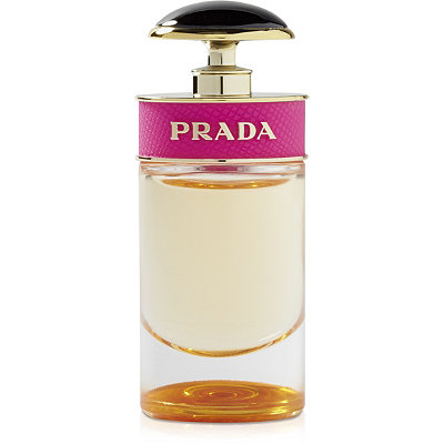 Online Only FREE Candy mini deluxe sample w/ any large spray Prada Candy Fragrance Collection purchase