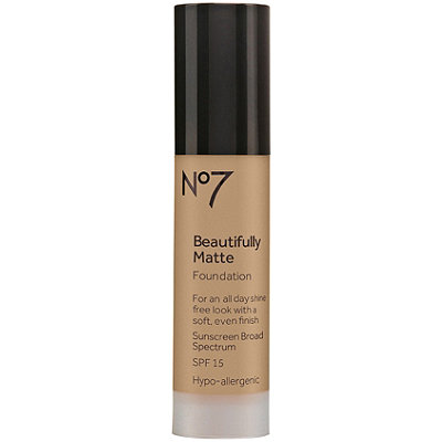 No7 Beautifully Matte Foundation Broad Spectrum SPF 15