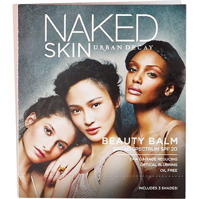 Urban Decay Cosmetics FREE Naked Skin Beauty Balm sampler (3 x 0.03 oz.) w/any $35 Urban Decay purchase