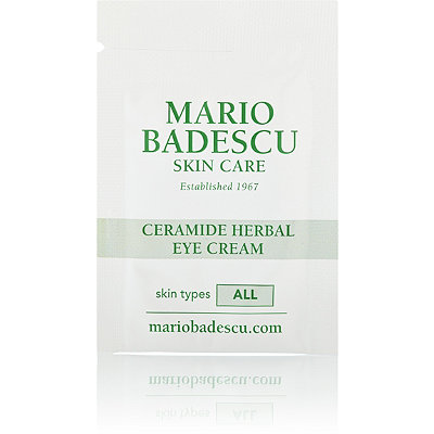 Mario Badescu FREE Ceramide Herbal Eye Cream sample w/any Mario Badescu purchase