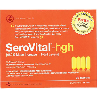 San Medica FREE 7-Day Supply Serovital-HGH w%2F any Serovital-HGH purchase