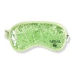 Earth Therapeutics Gel Bead Sleep Mask-Green