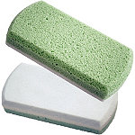 Earth Therapeutics Pedi-Glass Stone-Green