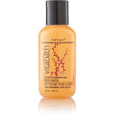 VitabathTravel Size Pomegranate %26 Blood Orange Body Wash