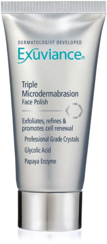 triple microdermabrasion face polish