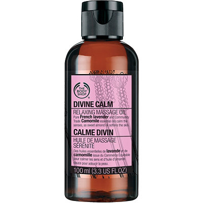 The Body Shop Online Only Body Shop Calm Massage Oil