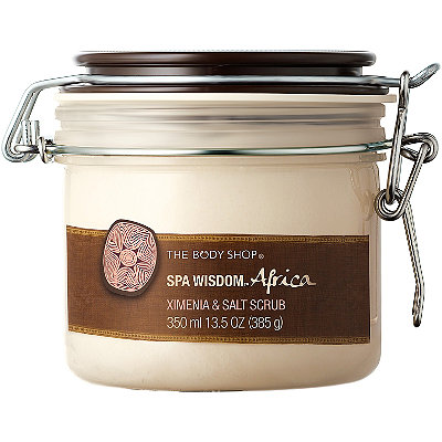 The Body Shop Online Only Body Shop Ximenia & Salt Scrub
