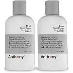 Anthony Online Only Glycolic Facial Cleanser Duo