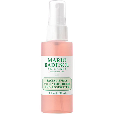 Travel Size Facial Spray With Aloe, Herbs and Rosewater