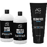 AG HairBad Boy 4-piece Cleansing and Grooming Kit