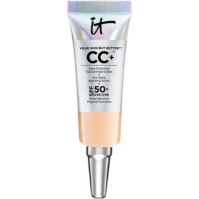 It Cosmetics FREE Your Skin But Better CC%2B Cream with SPF 50%2B mini in medium w%2Fany Clarisonic Sonic Foundation Brush purchase