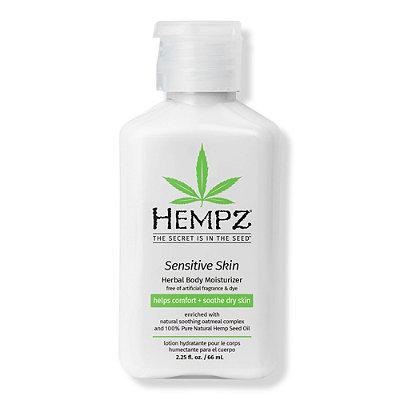 HempzTravel Size Sensitive Skin Herbal Body Moisturizer