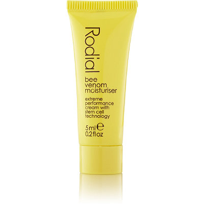 Online Only FREE deluxe sample Bee Venom Moisturizer w/any $50 Rodial purchase
