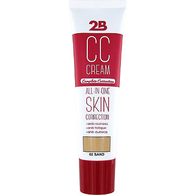 2B Colours Online Only CC Cream