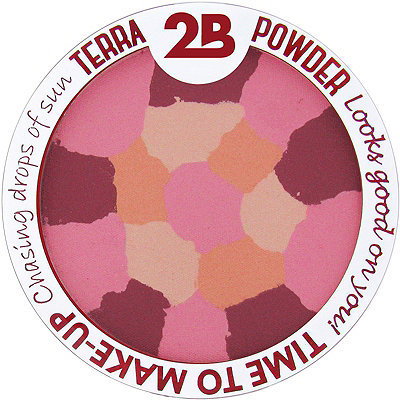 2B Colours Online Only Blush Terra Powder Mosaique
