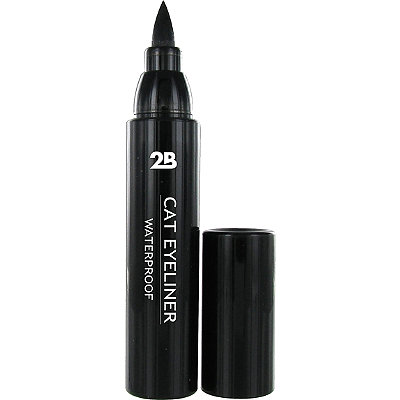 2B Colours Online Only Black Cat Eye Liner Waterproof