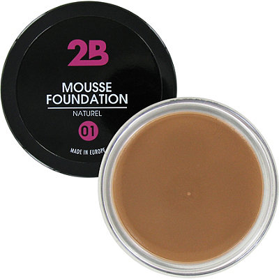 2B Colours Online Only Mousse Foundation
