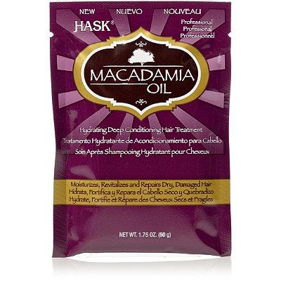 HaskMacadamia Oil Moisturizing Deep Conditioner Packette
