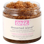 Cake BeautyOnline Only Desserted Island Smoothing Brown Sugar Body Scrub