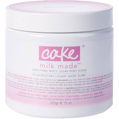 CakeOnline Only Milk Made Smoothing White Sugar Body Scrub