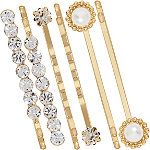 Assorted Gold Bobby Pins