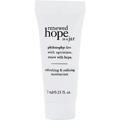 FREE Renewed Hope In A Jar w/any $35 Philosophy purchase