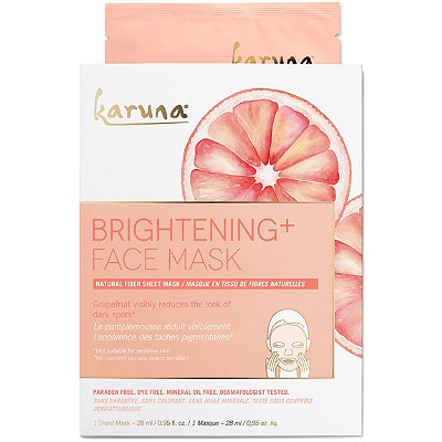 Karuna Online Only Brightening%2B Face Sheet Mask