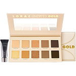 LoracUnzipped GOLD Shimmer & Matte Eye Shadow Palette