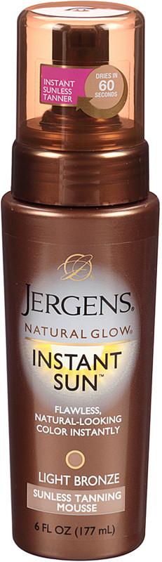 ef1929592e2a7 Jergens Natural Glow Instant Sun Mousse