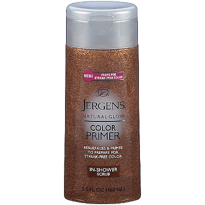 Jergens Natural Glow Color Primer In Shower Scrub