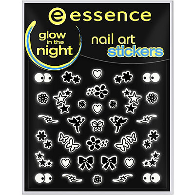 Essence Glow In The Dark Nail Art Stickers