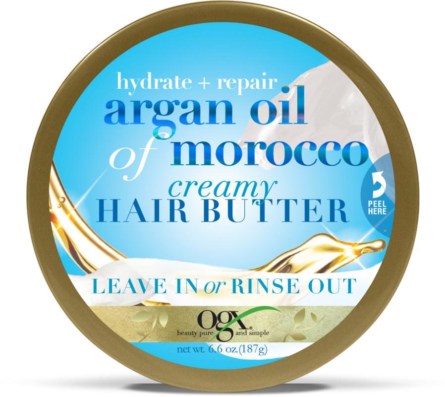 Ogx Hydrate Repair Argan Oil Of Morocco Creamy Hair Butter Leave