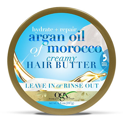 OGX Hydrate %2B Repair Argan Oil of Morocco Creamy Hair Butter Leave In or Rinse Out