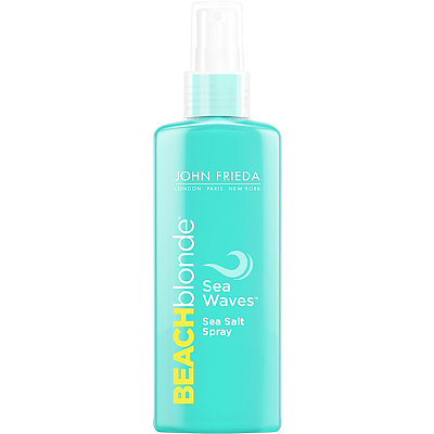 Beach Blonde Sea Waves Salt Spray