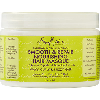 SheaMoisture Tahitian Noni %26 Monoi Smooth %26 Repair Nourishing Hair Masque