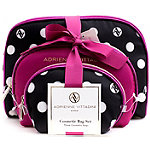 Adrienne VittadiniOnline Only Dome Shaped with Bow - Pink/Polka Dot 3 Pc Set