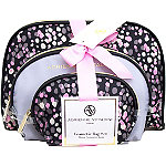 Adrienne VittadiniOnline Only Dome Shaped with Bow - Painted Dots 3 Pc Set