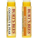 Burts Bee Moisturizing Lip Balms 2 Pk