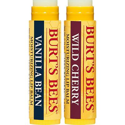 Burt's BeesWild Cherry and Vanilla Bean Lip Balm 2 Tubes