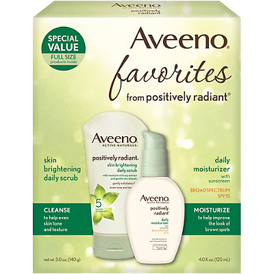 Aveeno Positively Radiant Favorites