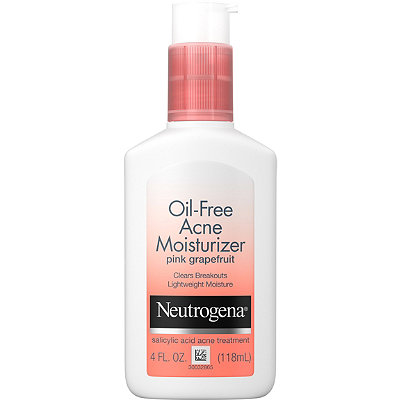 acne products free moisturizers