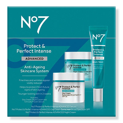 No7 Protect & Perfect Intense Skincare System SPF 15