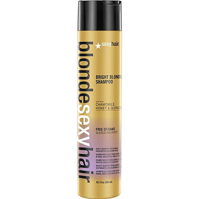 Blonde Sexy Hair Bright Blonde Shampoo Violet Shampoo for Blonde