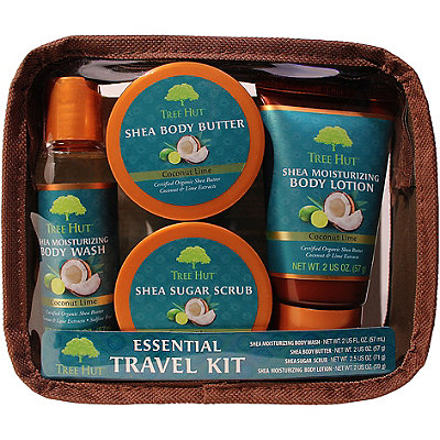 Coconut Lime Essentials Travel Kit