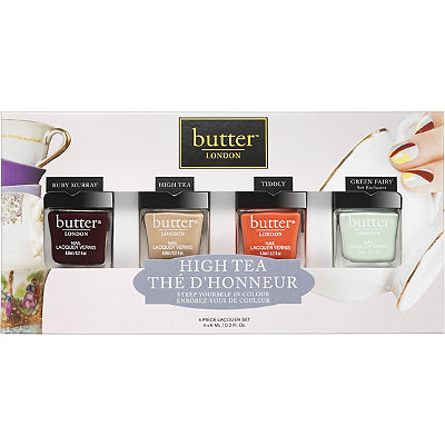 Butter London Online Only High Tea Collection Set