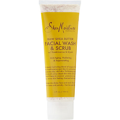 SheaMoisture Raw Shea Butter Facial Wash %26 Scrub