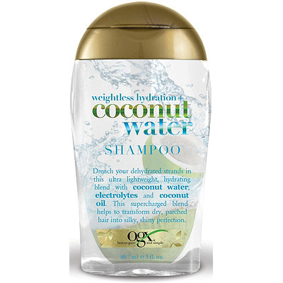 OGX Trial Size Weightless Hydration Coconut Water Shampoo