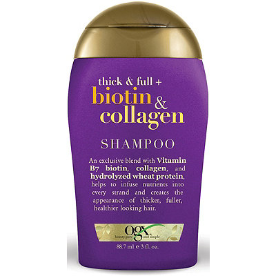 OGX Trial Size Thick %26 Full Biotin %26 Collagen Shampoo